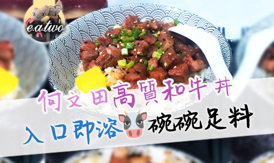 何文田高質和牛丼 入口即溶碗碗足料