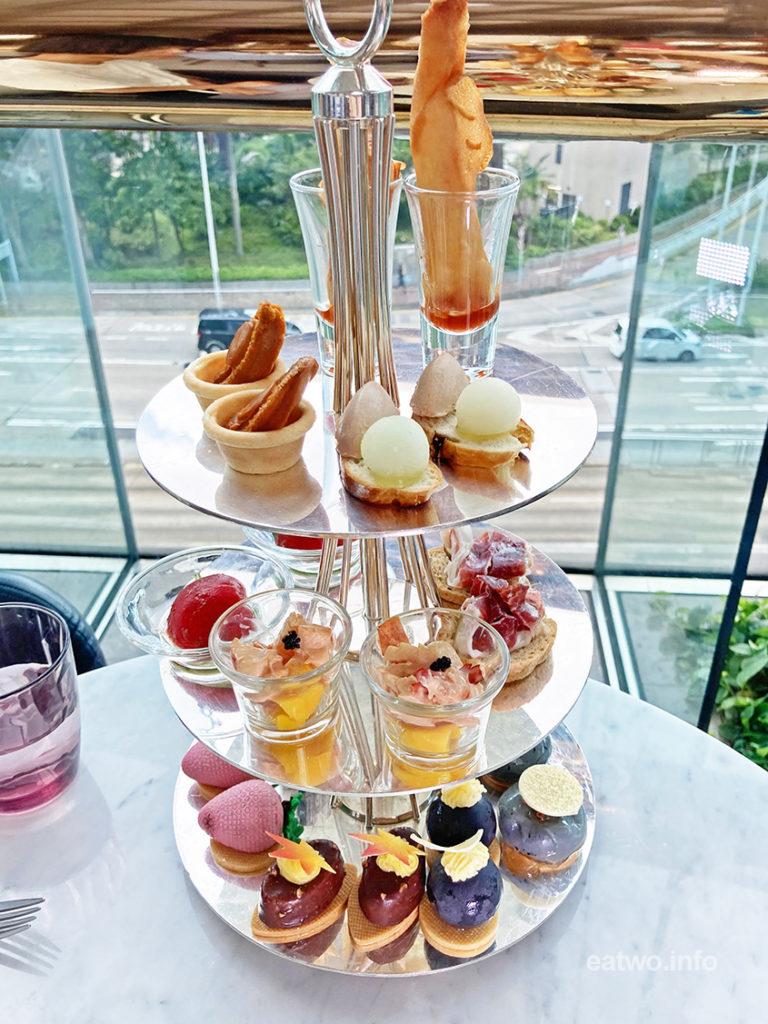 香港JW萬豪酒店貴婦級Afternoon Tea