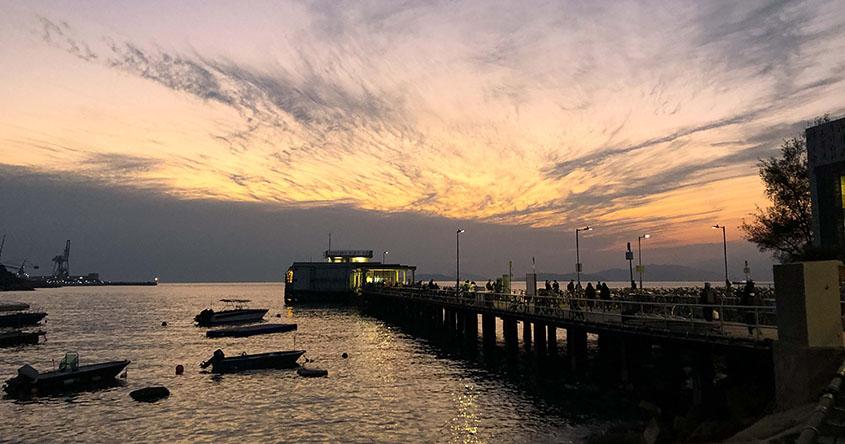 南丫島發電廠旁秘密觀景地 大灣肚沙灘直視絕美日落