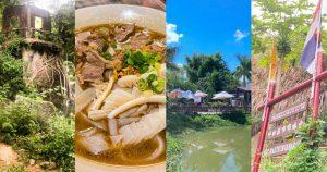 【曼谷偽旅行】新界東穿越大城水上市場/瑪哈泰寺 歎地道惹味泰式牛湯粉
